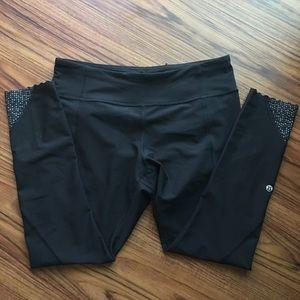 LULULEMON tight stuff tight, size 10 black
